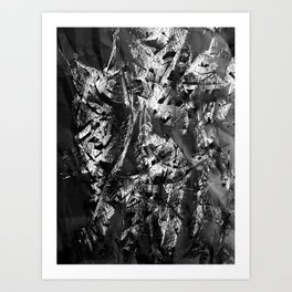 Cocoons Paper Art Print