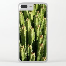 Cacti Cacti Clear iPhone Case