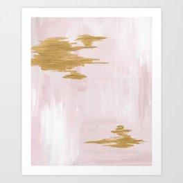Blush Beauty Art Print
