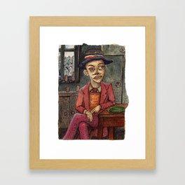 20th Century Dickensian Dodger Framed Art Print