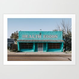Health Foods Art Print