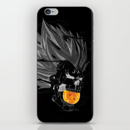 Death Crew Black Edition - Majin Vegeta iPhone Skin
