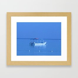 sailboats Framed Art Print