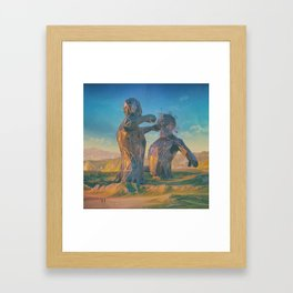 CONFLICT.1992 (everyday 05.07.16) Framed Art Print