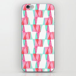 Cheery Triangles iPhone Skin