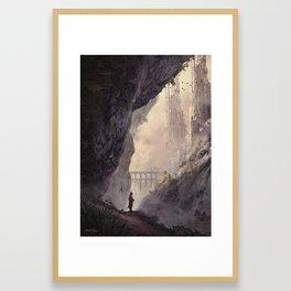 WHITE TOWERS Framed Art Print