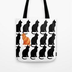 ODD CAT OUT Tote Bag