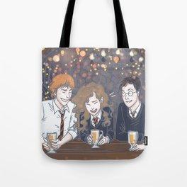 The Golden Trio Tote Bag