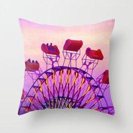 Rides of Summer Throw Pillow
