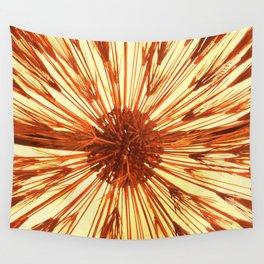 Copper Burst Wall Tapestry