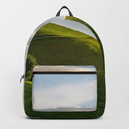One Tree Hills, Ireland, Springtime, Emerald Isles Photograph Backpack