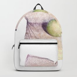 Emulsion Lift 6- An Apple A Day Backpack