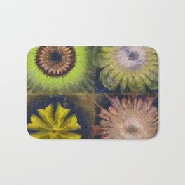 Methylator Structure Flowers  ID:16165-011604-36970 Bath Mat