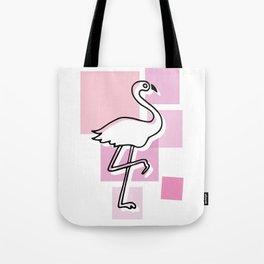 flamingo go Tote Bag