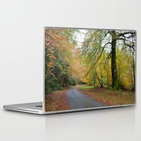 scotland Laptop & iPad Skins featuring Scotland Backroad by Kristie Anderson