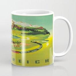 Vintage poster - Austria Coffee Mug