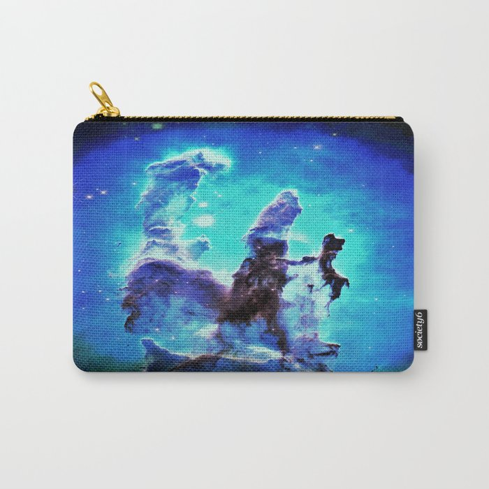 Blue Pillars of Creation nEBULA  Carry-All Pouch