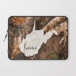 West Virginia is Home - Camo Laptop Sleeve