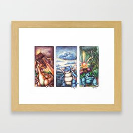 GENERATION I Framed Art Print