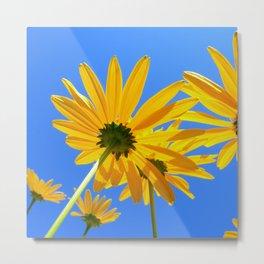yellow coneflower IV Metal Print