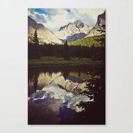 elbow lake Canvas Print