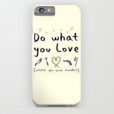 Motivational Poster Slim Case iPhone 6s