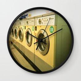 Laundromat Wall Clock