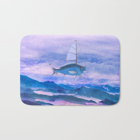 I want to fly II Bath Mat