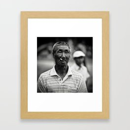 Nanai Man Framed Art Print