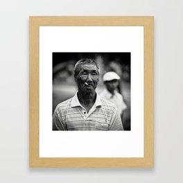 Nanai Man Framed Art Print