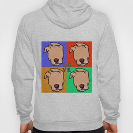 Color me in pits (love is a pit bull No.5) Hoody
