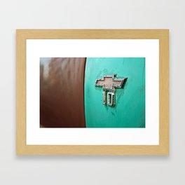 Chevy 10 Framed Art Print