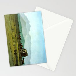 Surveyor's Wagon in the Rockies Stationery Cards