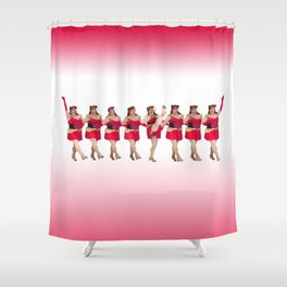 Have Yourself A Jersey Little Christmas Shower Curtain