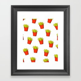 Fry Time Framed Art Print