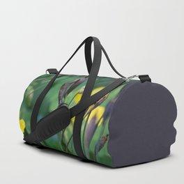 slug dancing on a poppy Duffle Bag