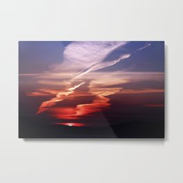 Sunset Dance Metal Print