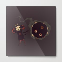 Katamari of the Dead Metal Print