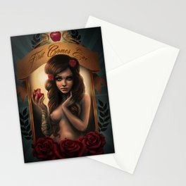 First Comes Eve Stationery Cards