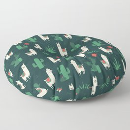 Fleece Navidad and Cactus Floor Pillow