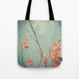 The Winter Days of Autumn Tote Bag