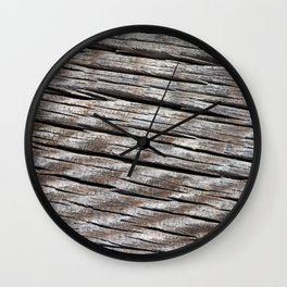 Smokey Lake Farm Door 2 Wall Clock