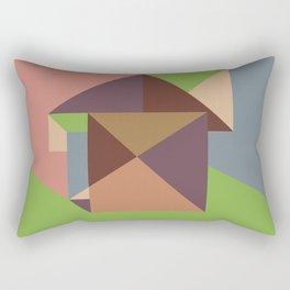 Poligonal 255 Rectangular Pillow