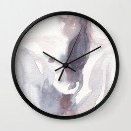 Erotic Rain Wall Clock