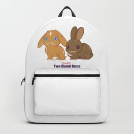 Two Dumb (Smart) Buns Backpack