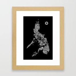 Paranormal Philippines (black) Framed Art Print
