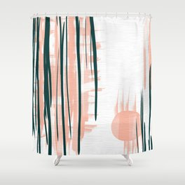 Morning in Japan Shower Curtain