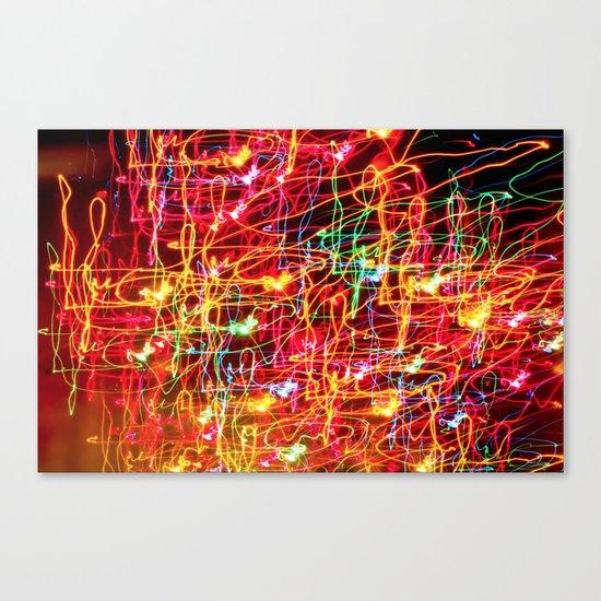 Neon Neon 4 Canvas Print