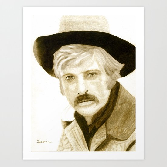Sundance Kid Art Print