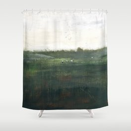 Farm Pasture Shower Curtain